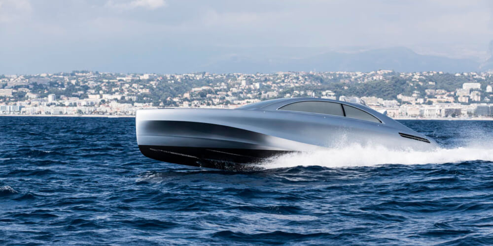 Arrow460 granturismo mercedes benz style with price for Mercedes benz yacht cost