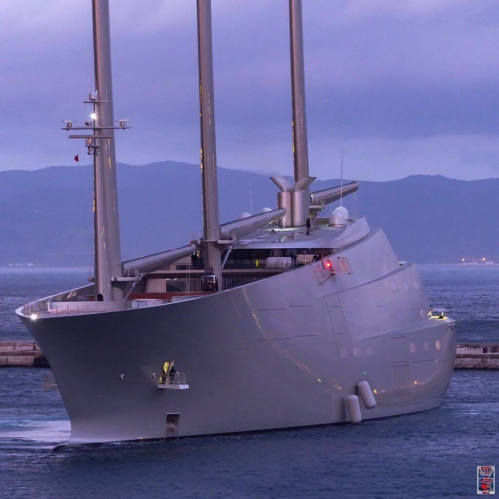 Sailing Yacht A Will Soon Be Released